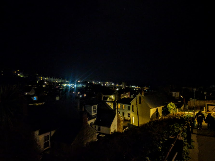 How to spend an evening in St Ives with kids  - St Ives at night