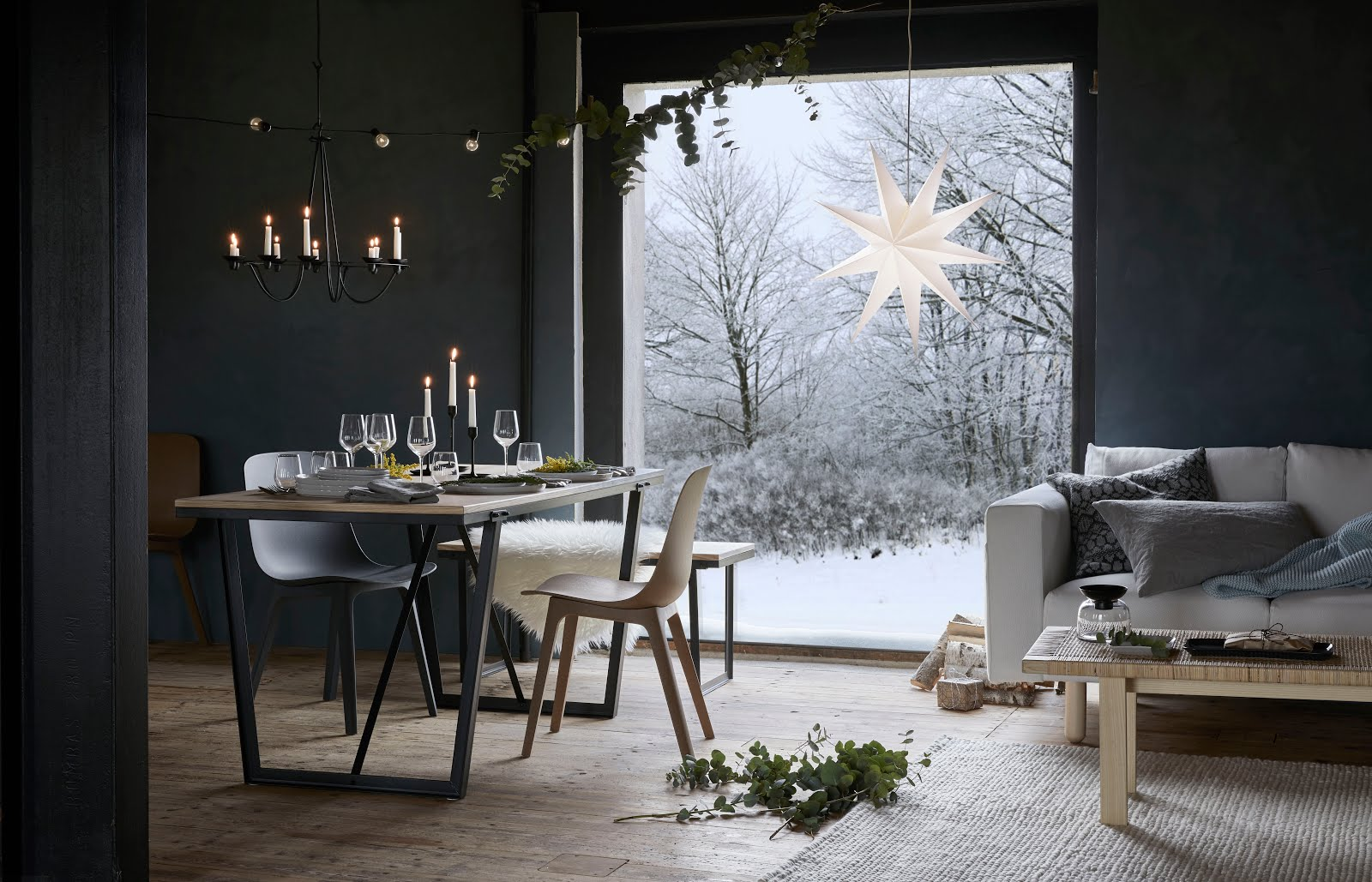 Ikea, winter 2017, collectie, VINTER 2017, christmas decoration, interior, star, strala