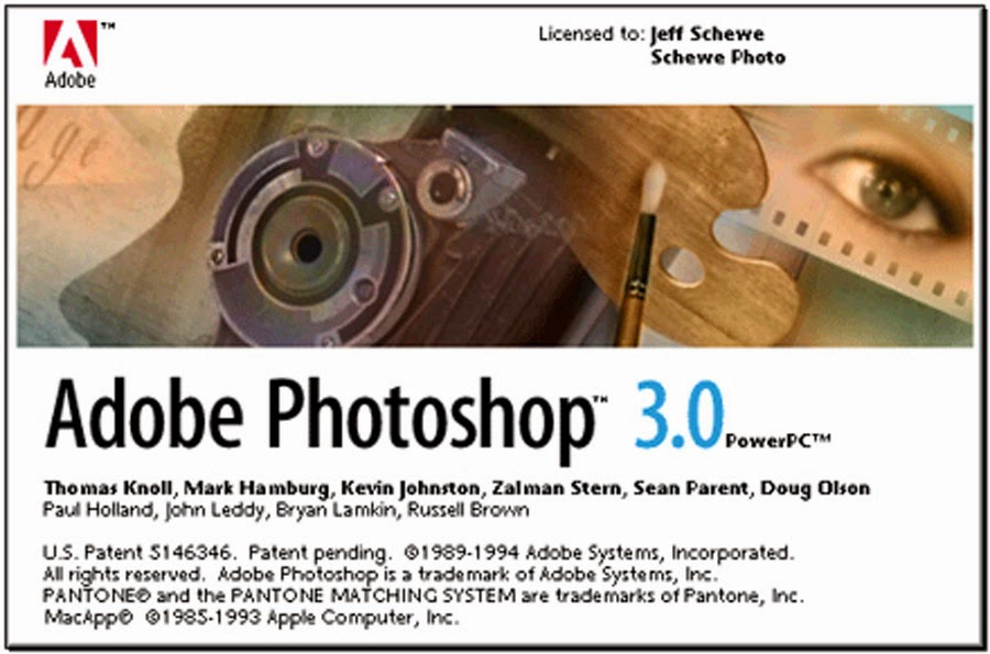 Adobe Photoshop 3.0 MacPower PC