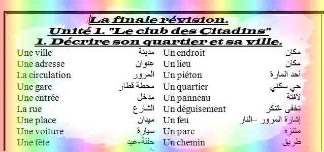 أقوى مراجعة لغة فرنسية للصف الثاني الثانوي ترم أول 2019 مسيو حسام أبو المجد