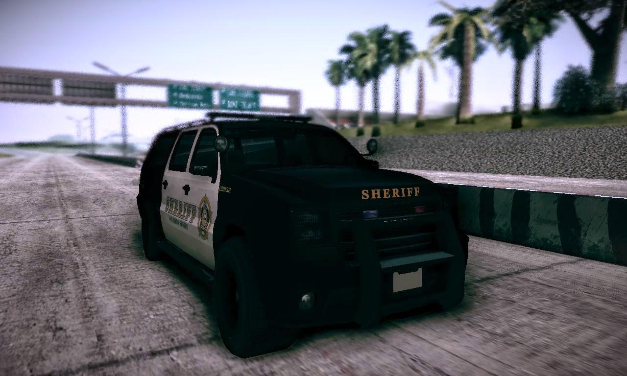 GTA Mods: GTA V Sheriff Granger para GTA San Andreas
