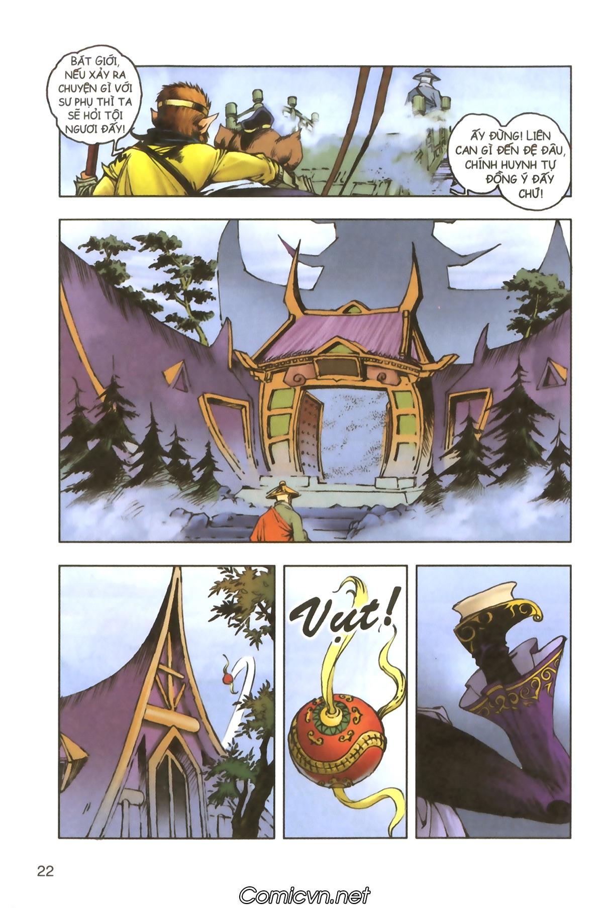 Tây Du Ký màu - Chapter 114 - Pic 20