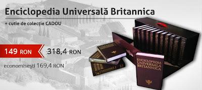 reducere colectia Enciclopedia Universală Britannica