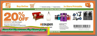 Free Printable Home Depot Coupons