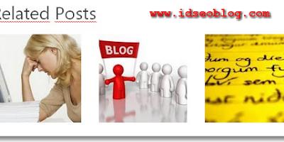 Cara Membuat Related Post Bergambar