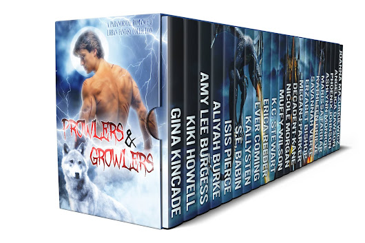 Prowlers & Growlers Paranormal Romance Boxed Set ~ Limited Time #99cent #preorder