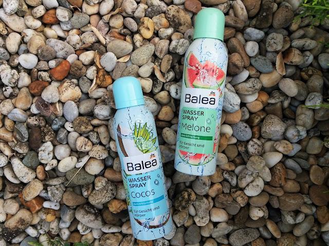 Balea Wasser Spray Cocos & Balea Wasser Spray Melone