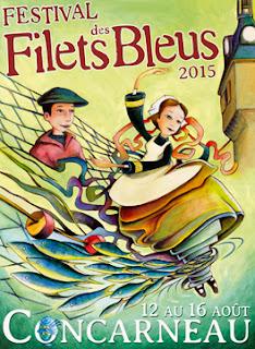 Affiche 2015 Festival des Filets bleus Concarneau