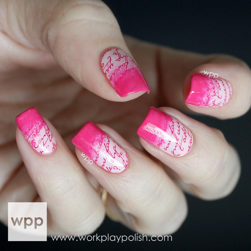 Incoco Nail Wraps with Nail Polish Gradient