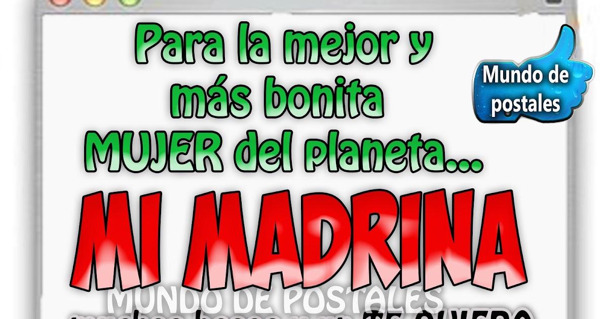 d051e3cdf7 Mundo de Postales  MI MADRINA
