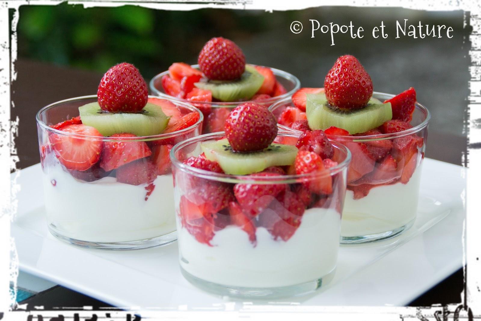 Tiramisu fraise - Tiramisu fraise sans mascarpone ...
