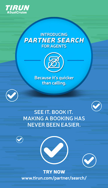 TIRUN makes cruise bookings easier for travel partners with the launch of 'Partner Search'