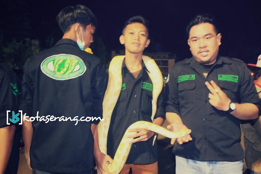 Suka Hewan Reptil, KEPATIL Ramaikan Komunitas Di Banten