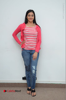 Telugu Actress Mouryani Latest Pos in Blue Denim Jeans  0221.JPG