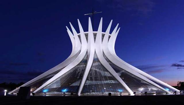 Bangunan Ikon Dunia  Cathedral of Brasilia