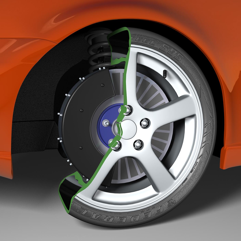 Electromagnetic Anti-Lock Braking for Electric Vehicles