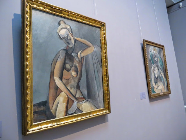 Works by Picasso hanging in the Hermitage in St. Petersburg, Russia