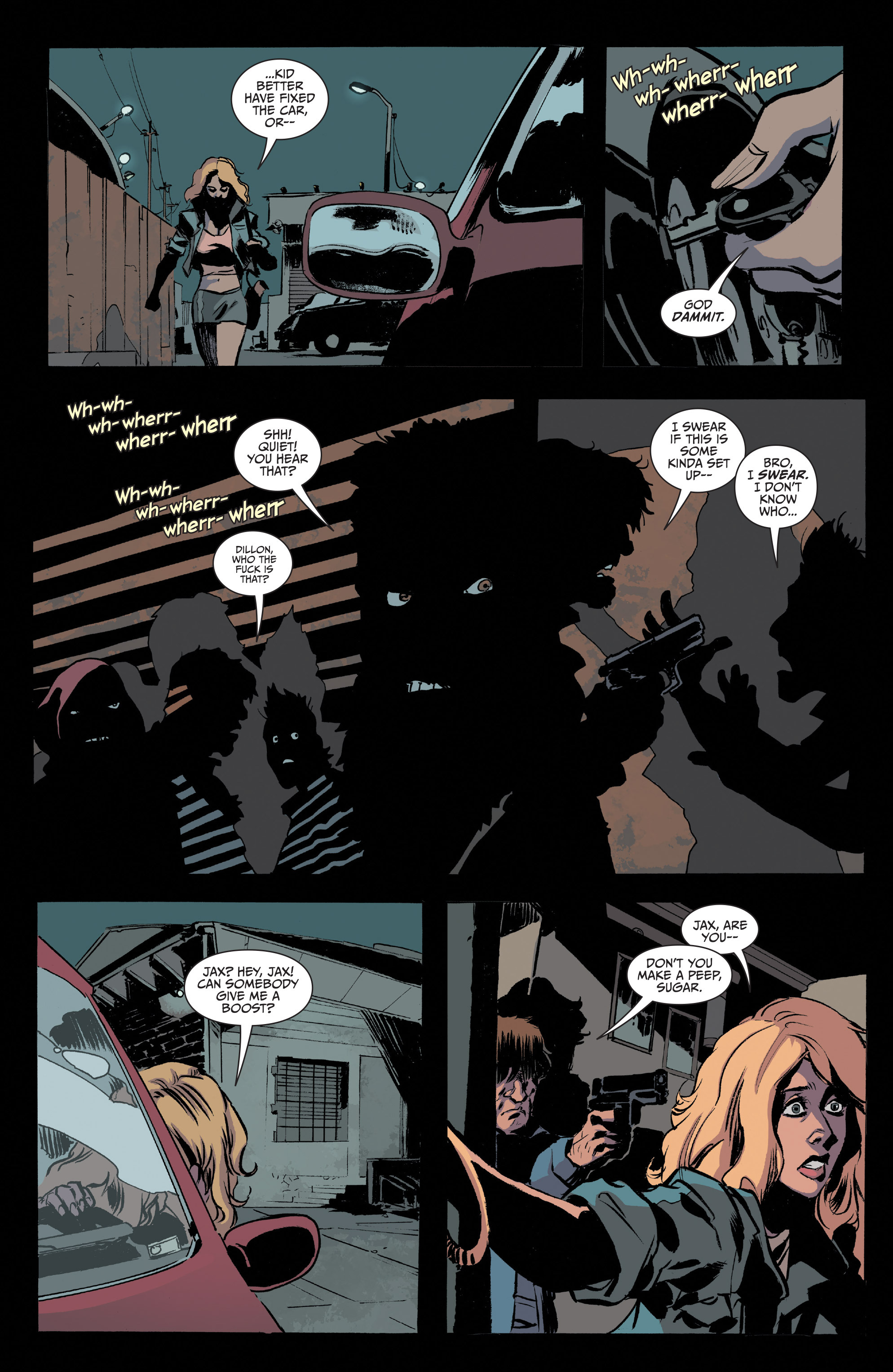 Read online Sons of Anarchy comic -  Issue #20 - 21