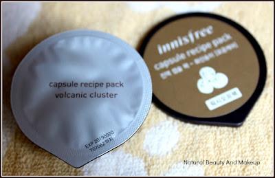 Innisfree  Capsule Recipe Pack Volcanic Cluster