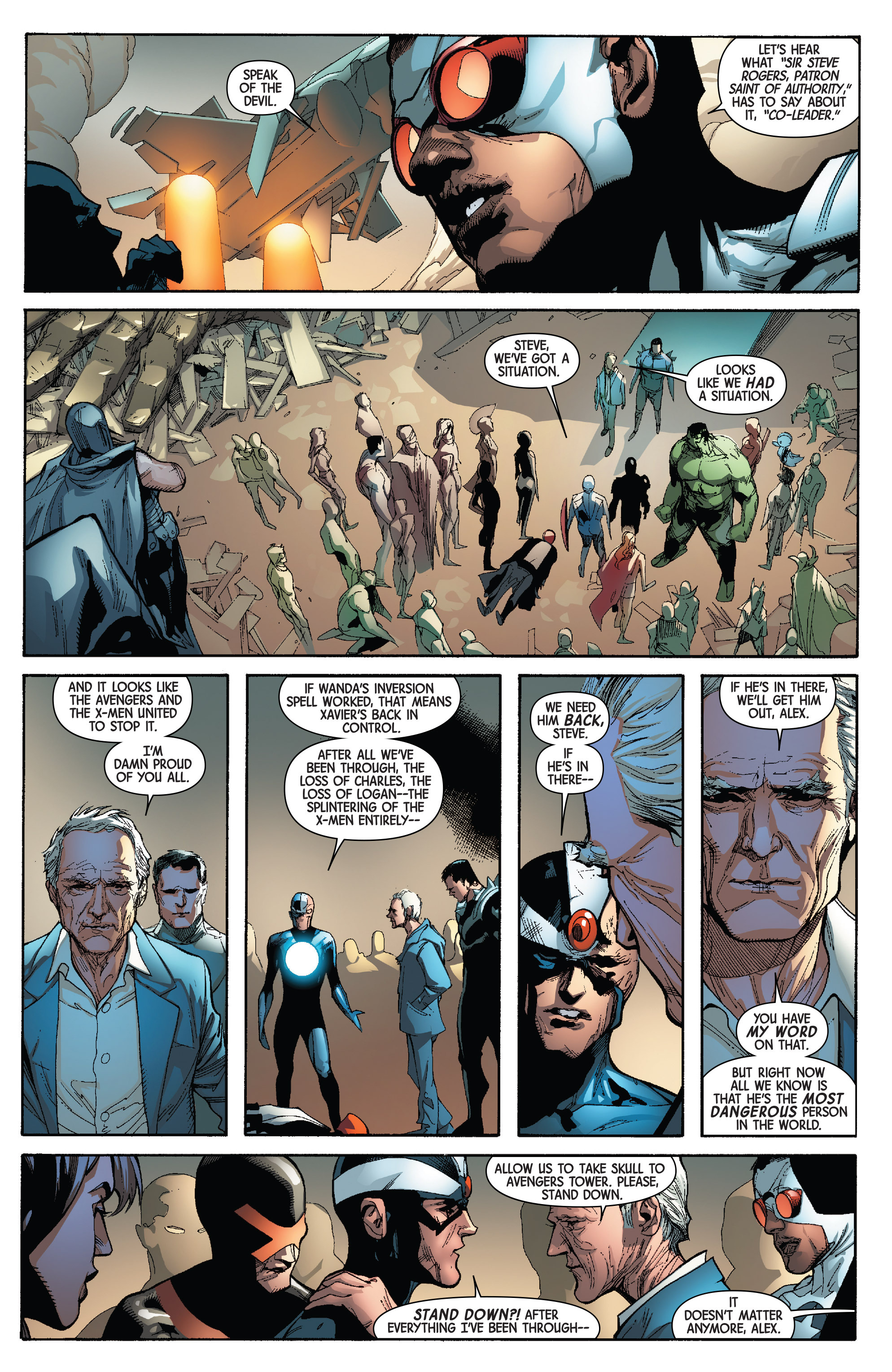 Read online Avengers & X-Men: AXIS comic -  Issue #3 - 23