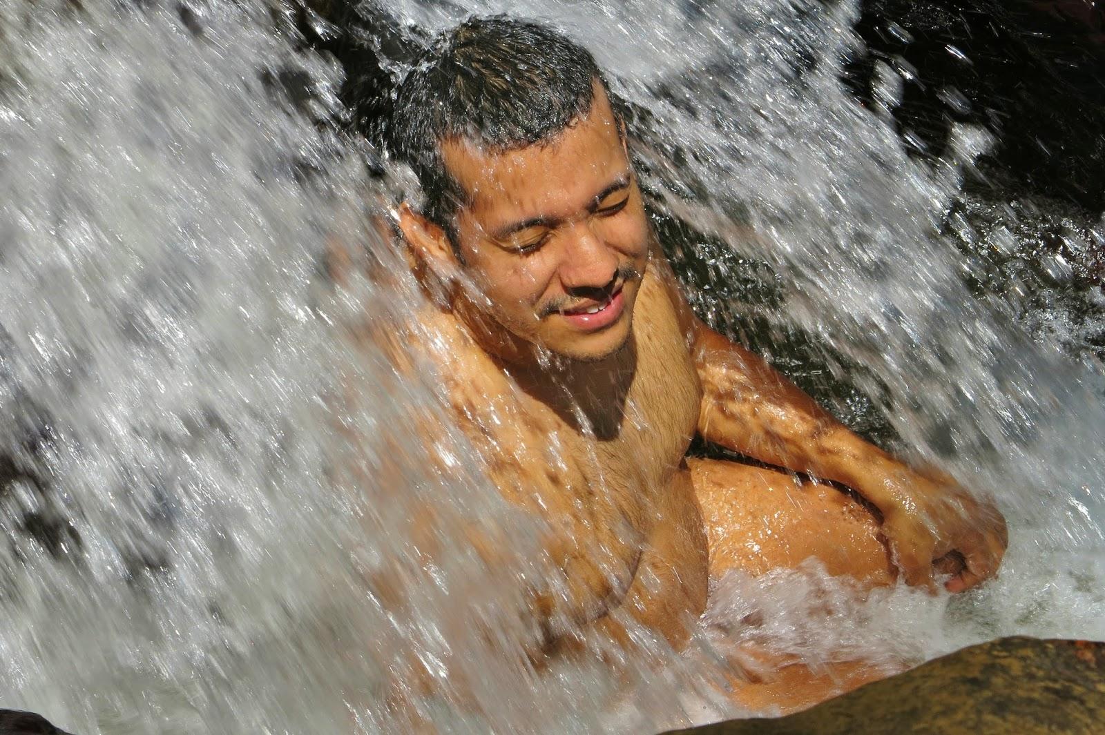 Cachoeira do Lajeado, em Santo Antônio do Pinhal