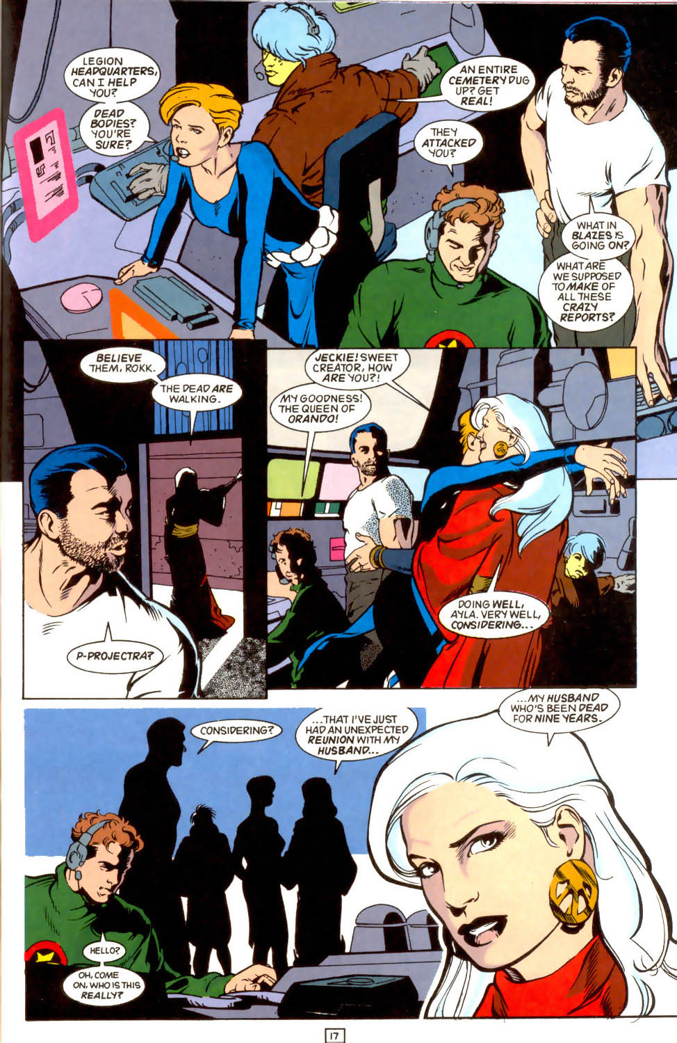 Legion of Super-Heroes (1989) 44 Page 17