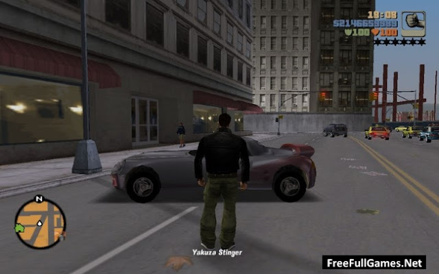 GTA 3 (Grand Theft Auto 3) PC Game Free Download Full Version