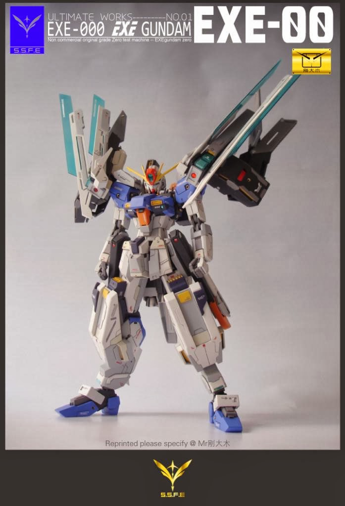 Custom Build 1 144 Exe 000 Exe Gundam Gundam Kits Collection News And Reviews
