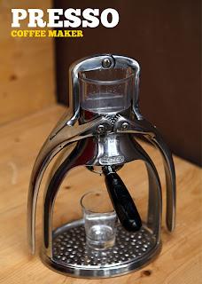 mesin espresso maunal