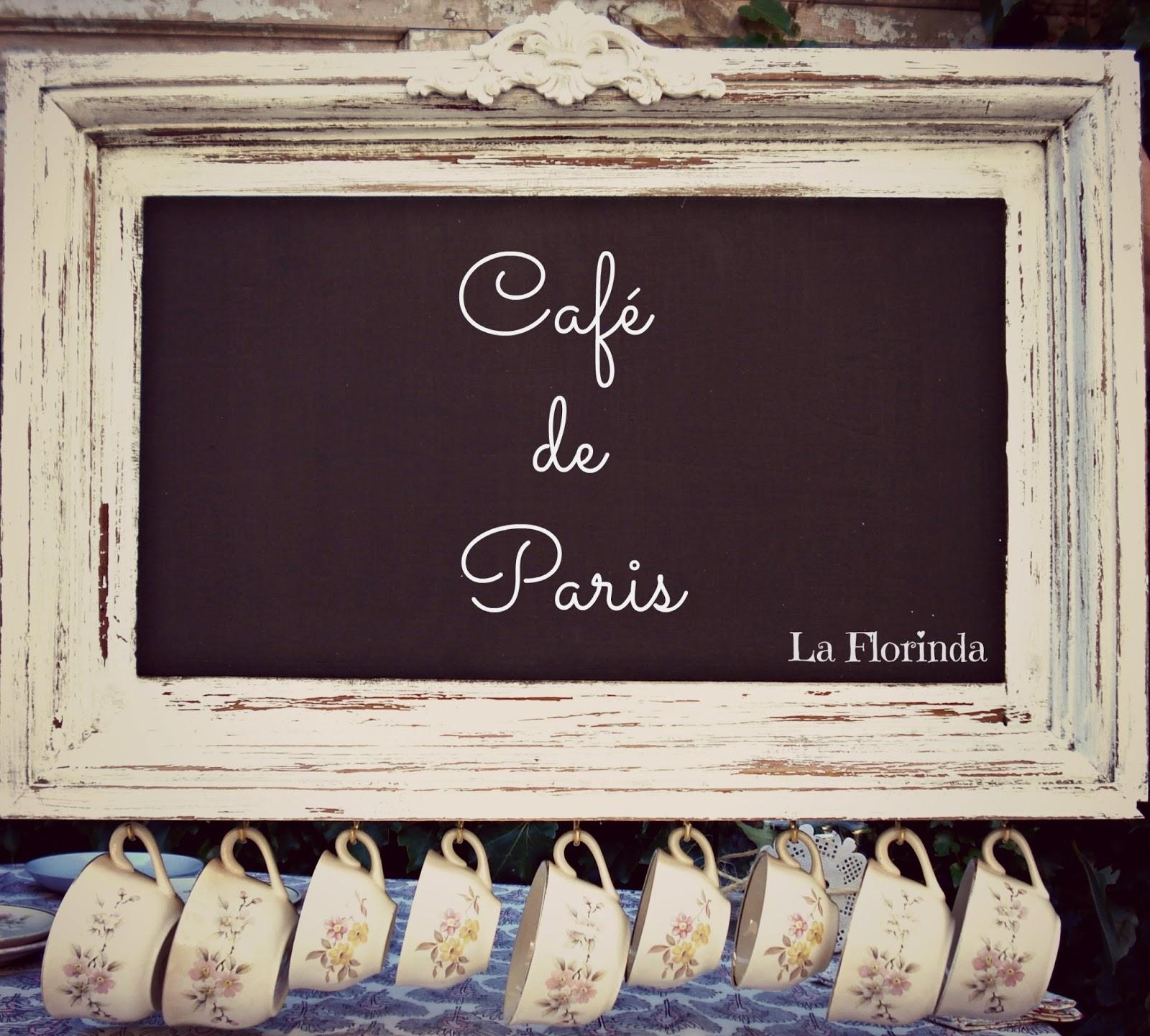 Tienda La Florinda: Pizarra cuelga tazas