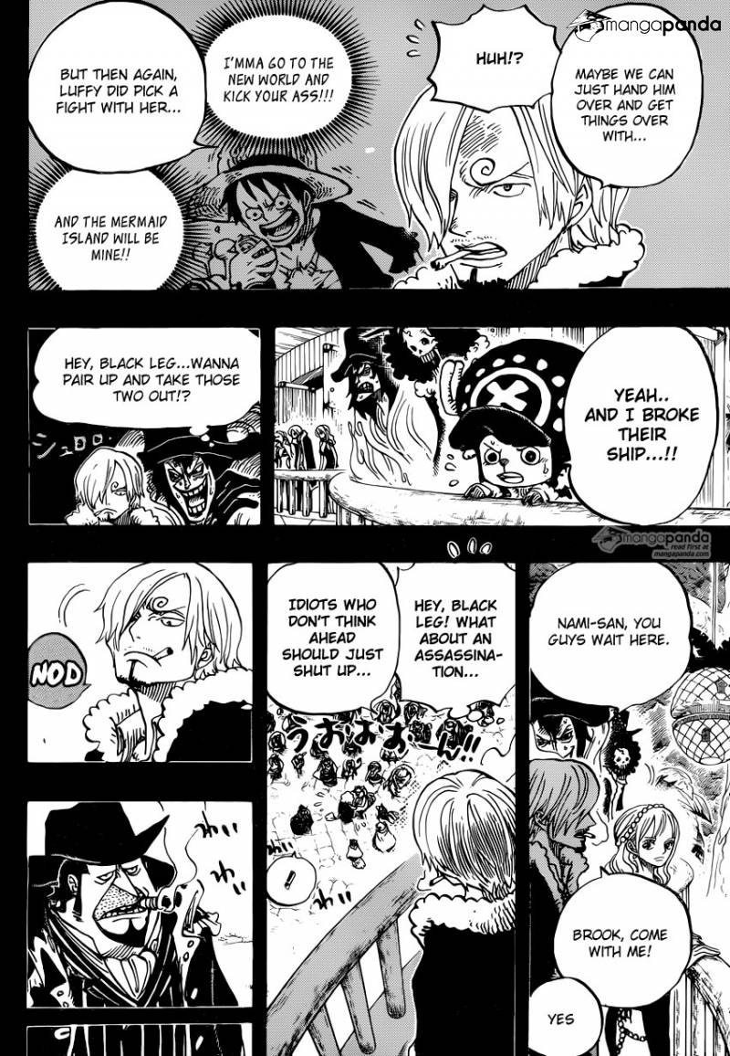 One Piece Ch.812: Capone