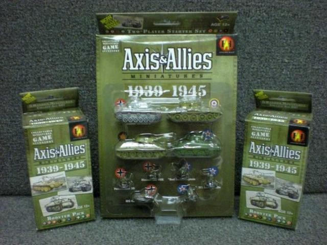 And Wargaming Axis Miniatures Allies