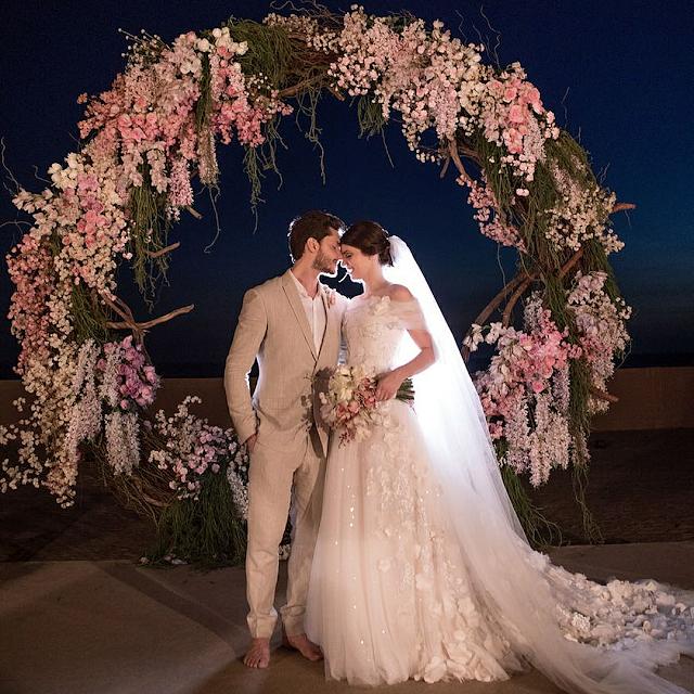 Casamento religioso de Camila Queiroz e Klebber Toledo