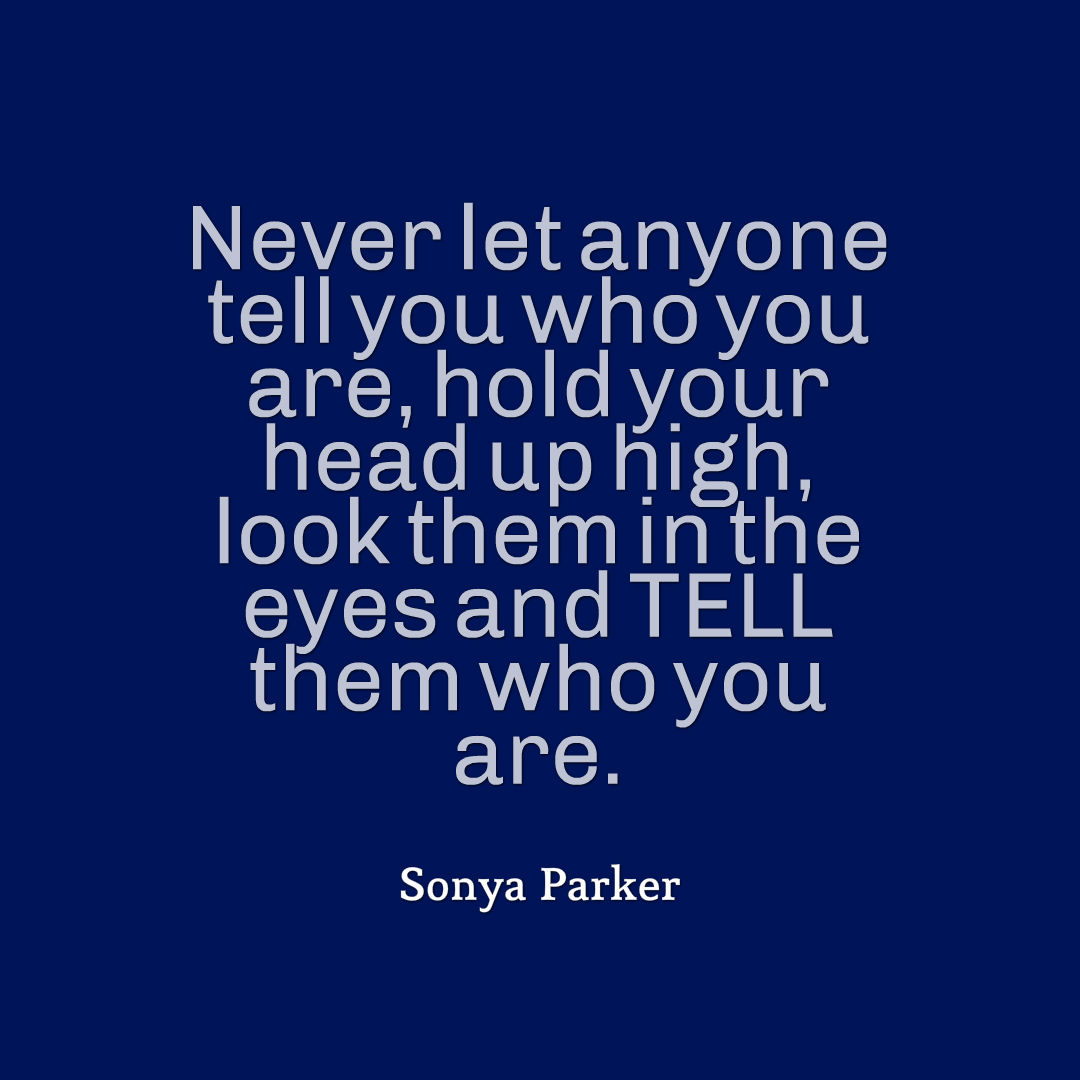 Self Worth Quote Author Sonya Parker Quotes