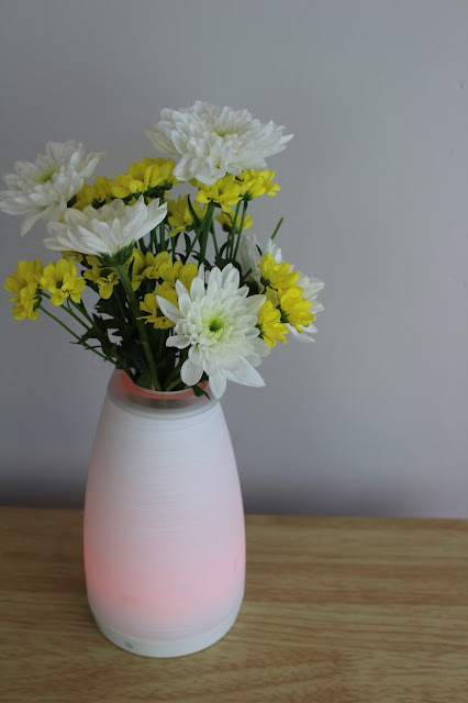 smart bluetooth LED vase