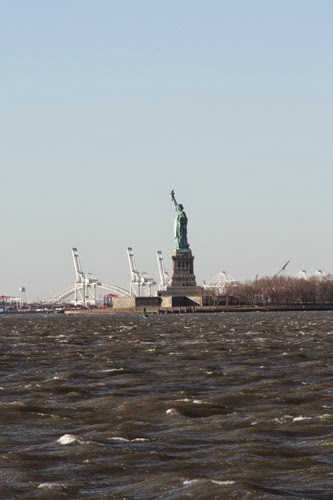 Statue From Battery Park