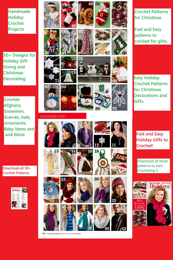 Fast and Easy New Crochet Patterns for Christmas Gifts and ...