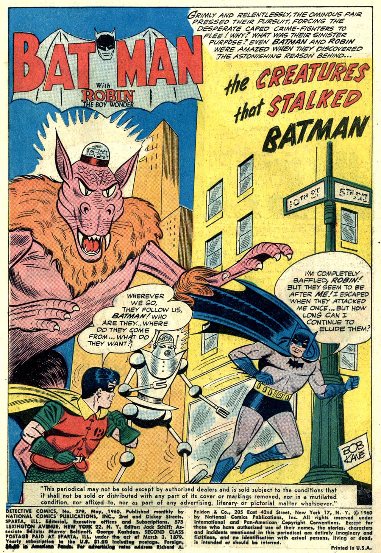 Detective Comics (1937) 279 Page 2