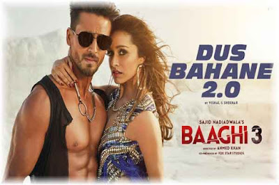 Dus Bahane 2.0 Lyrics-Baaghi 3