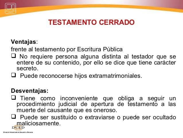 """MODELO JURIDICO """"Petición Apertura de Testamento Cerrado"""""""
