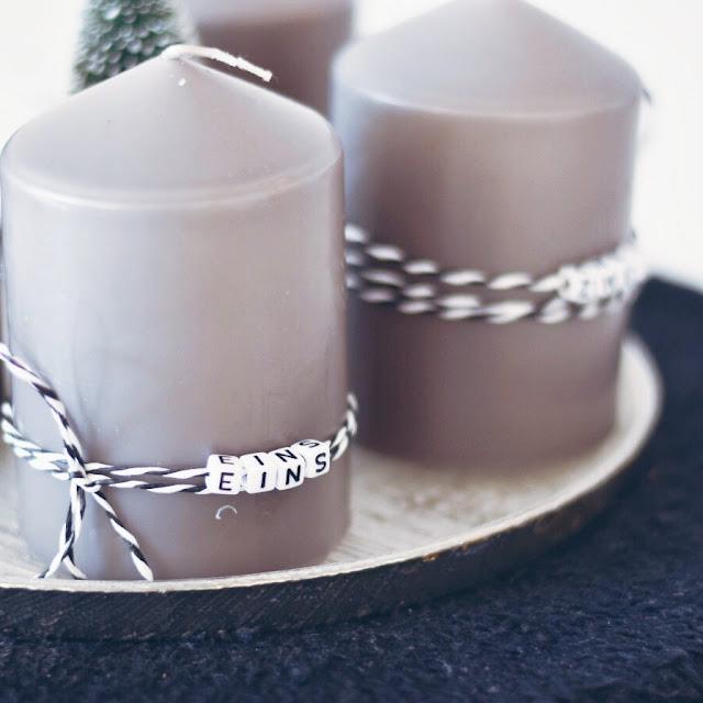 GrinseStern, Advent Advent, Adventkranz, vorweihnachtszeit, diy