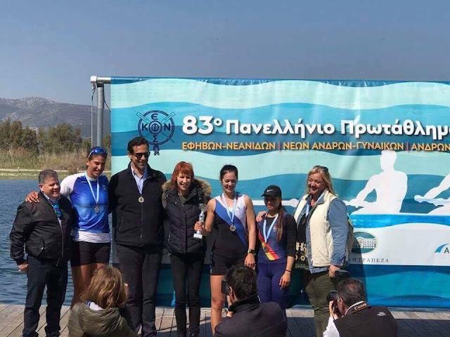 6ος ο Ναυτικός Όμιλος Κατερίνης στο 83ο πανελλήνιο πρωτάθλημα κωπηλασίας