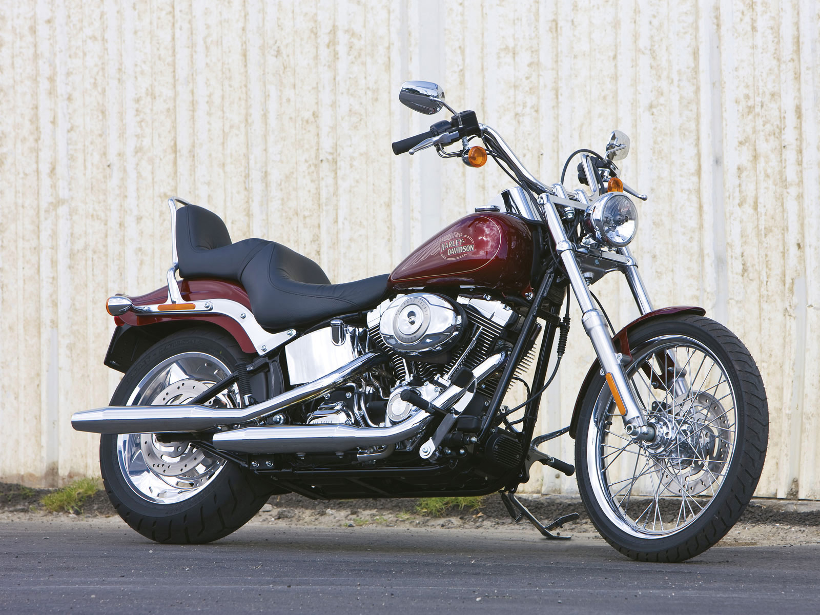Harley Davidson Softail: 2009 Harley-Davidson FXSTC Softail Custom Pictures