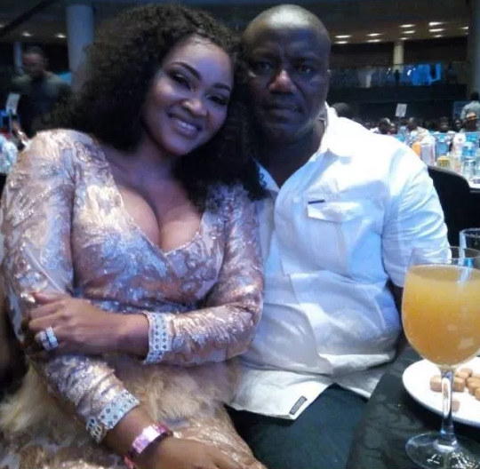 mercy aigbe domestic violence was staged