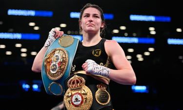 Katie Taylor Unifies Women's Lightweight titles