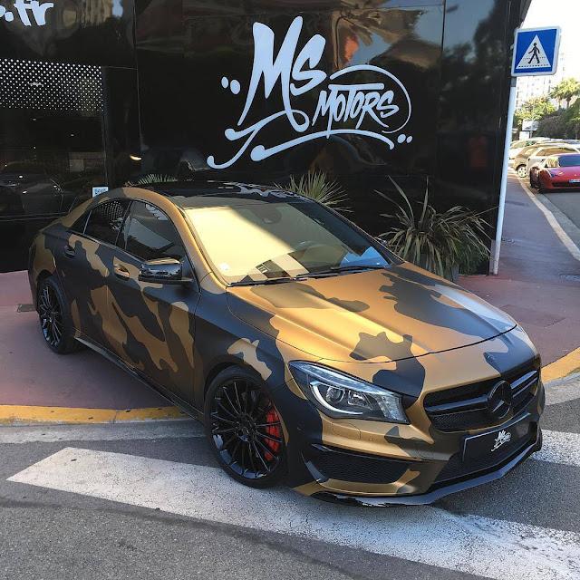 تم تسريب سيارة مرسيدس AMG CLA45 لعام 2020. . . بواسطة مرسيدس