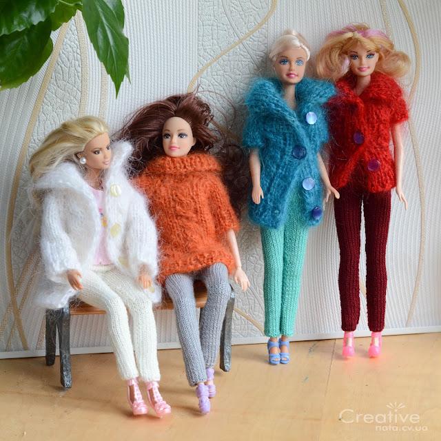 Зимняя одежда для Барби