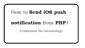 How to Send iOS push notification from PHP