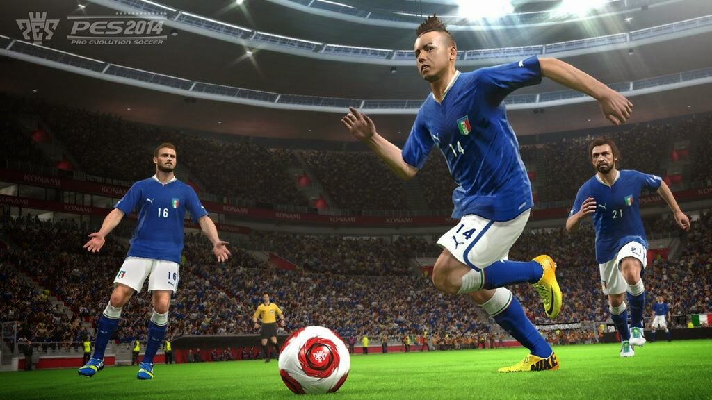 Download PES 2014 Full Free Setup Download for PC and PS2