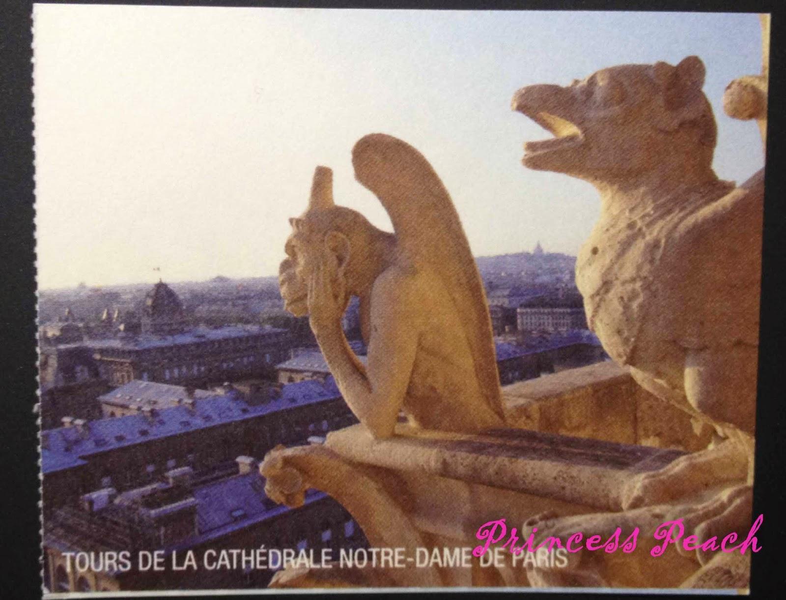 巴黎聖母院頂樓門票